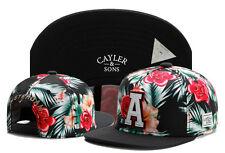 New Hip Hop Men's CAYLER Sons adjustable Baseball Snapback Black Hat Cap 56#