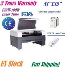EFR 160W CO2 Laser Engraving Cutting Machine 1300 x 900mm Wood Engraver US Stock