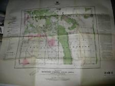Boston Creek Kirkland Lake Ontario Map Timiskaming 1916 -Good - Library Discard