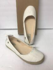 Ugg Women's Indah Flat Size 9 Color White