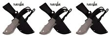"Set of 3 Survivor 10.5"" Fixed Blade Stainless Steel Knives Knife Hk 790 New"