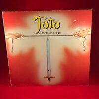 TOTO Hold The Line 1984 UK issue vinyl LP  EXCELLENT CONDITION SHM3152