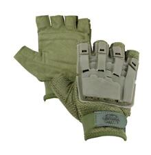 Valken V-Tac Olive Tactical Half Finger Paintball Gloves Xl 2Xl