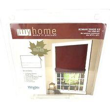 """Roman Shade Kit Fits Windows Maximum 48""""W X 60""""L My Home"""