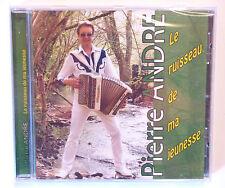 RARE CD ALBUM ACCORDEON / PIERRE ANDRE - LE RUISSEAU DE MA JEUNESSE / ANNEE 2010