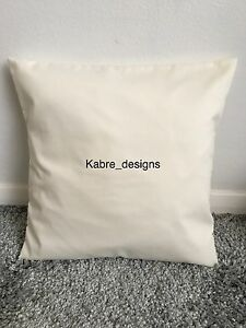 """1 NEW 10"""" PLAIN CREAM COTTON CUSHION COVER OTHER COLOURS SIZES AVAILABLE"""