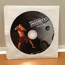 Beachbody Insanity Cardio Abs DVD Shawn T. REPLACEMENT DISC