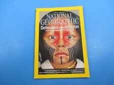 National Geographic Magazine January 2014 Defenders of The Amazon