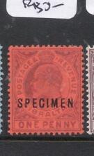 Gibraltar Specimen SG 77s MNG (9dmc)