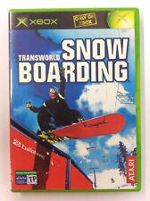 TRANSWORLD SNOWBOARDING - XBOX - PAL Manuale Italiano