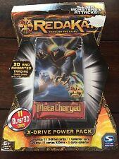 REDAKAI X-DRIVE POWER PACK 11 BLAST 3D CARDS META CHARGED NEW SEALED