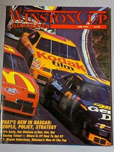 JUNE 1993 NASCAR WINSTON CUP ILLUSTRATED MAGAZINESFree Shipping