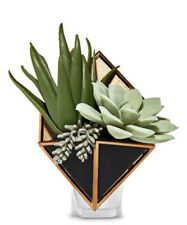 Bath and Body Works GEOMETRIC PLANTER Home Wallflowers Plug In Diffuser