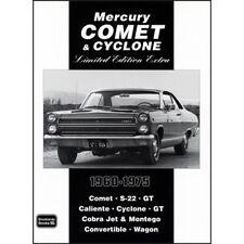 MERCURY COMET & CICLONE extra edizione LIMITATA 1960-1975 BOOK LIBRO