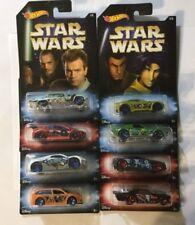 2017 Hot Wheels Star Wars Complete Set of 8 Walmart Exclusive
