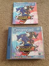 Sonic Adventure 2 Dreamcase CASE ONLY + Manual
