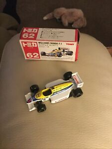 TOMICA 62 - WILLIAMS HONDA F1 [WHITE] CANON  VHTF MADE IN JAPAN