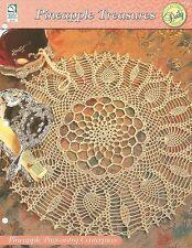 Pineapple Pageantry Centerpiece Doily Crochet Pattern Pineapple Treasures HOWB