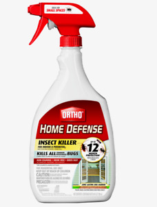 Ortho HOME DEFENSE INSECT Killer All Bugs Odorless In/Out 24 oz. 0221310