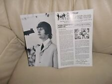 THE BEATLES UK FAN CLUB No.5  SUMMER 1965 NEWSLETTER ONLY EVER ISSUED TO MEMBERS