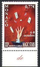 MONACO 2006 Magic stelle/Mano/schede/Festival/ANIMAZIONE 1v (n35429)