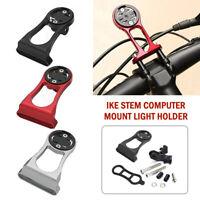Bike Stem Computer Mount Light Holder For Garmin Wahoo Elemnt Mini Bolt Gopro