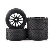 4Pcs 1:8 Bigfoot Monster Tires&Wheel 17mm Hex For TRAXXAS Truck RC Model Car