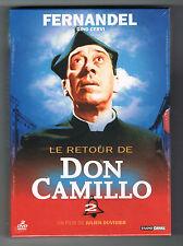 LE RETOUR DE DON CAMILLO - FERNANDEL - 1952 - COFFRET 2 DVD - NEUF NEW NEU