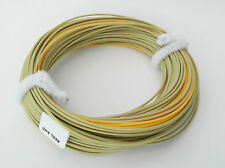 MDI Mill End Fly Lines Weight Forward 6 Olive/Yellow Floating WF6F British Made