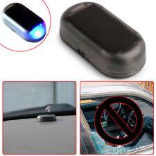 Blue Solar Energy Simulation Dummy Alarm Warning Security Anti-Theft Flash Light