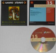 Berlioz Requiem Op. 5: Charles Munch, Boston Symph. U.S promo (?) 2 cd  card cvr