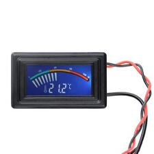 Hot Digital Thermometer Temperature LCD Meter Gauge PC Car C/F Panel Mount