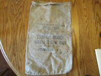 Vintage Canvas Money Bag Louisville Kentucky