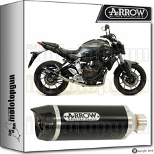 ARROW MUFFLER THUNDER ALUMINIUM DARK CARBY CUP HOM YAMAHA MT-09 2015 15 2016 16