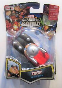 Marvel Superhero Squad Thor Die-cast Vehicle Toy by Maisto See Pics