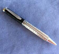 Regal Brand Elizabeth Ballpoint Pen Steel Black Resin Elegant Collectible