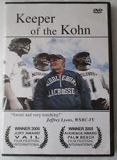 KEEPER OF THE KOHN DVD - LACROSSE