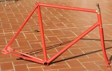 NOS Track / Pista vintage steel frame-set, frame&fork, 80s. Gipiemme drops. 55cm