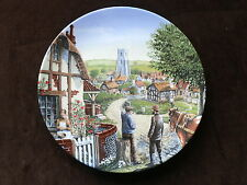 Royal Doulton Collector Plate, Rose Cottage, Journey Through The Village
