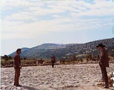 THE GOOD THE BAD AND THE UGLY CLINT EASTWOOD ELI WALLACH LEE VAN CLEEF SHOWDOWN