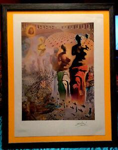 Salvador Dali Original Hand Signed Lithograph - 1976, LOA With