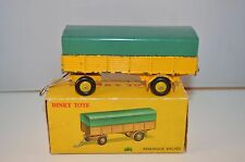 Dinky Toys 70 Remorque Bachee excellent plus in a complete original box