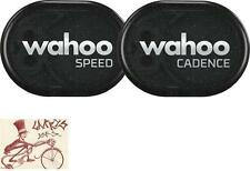 WAHOO FITNESS RPM SPEED AND CADENCE SENSOR BUNDLE WITH BLUETOOTH/ANT +
