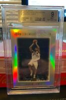 2003 TOPPS CONTEMPORARY COLLECTION LEBRON JAMES RC ROOKIE #1 BGS 9 *LOW POP!*
