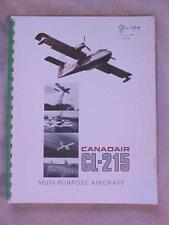 1976 Canadair CL-215 (Scooper) Multi-Purpose Aircraft aviation book