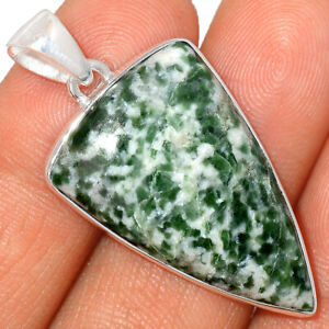 Diopside With Zoisite 925 Sterling Silver Pendant XGB Jewelry BP52967