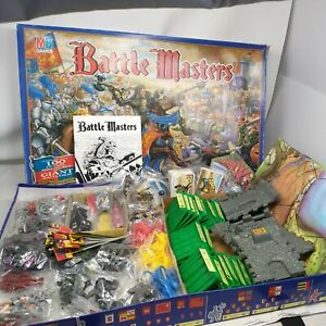 Warhammer Fantasy Battle Masters MB Board Game (ENG, 1992) BOXED RETRO 90S