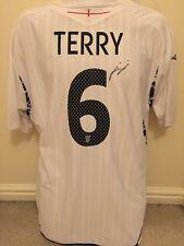 Signed John Terry England No.6 Home Shirt Chelsea