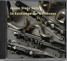 Jason Stein - Solo (In Exchange for a Process, 2009) CD Album