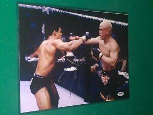 Tito Ortiz signed UFC 11x14 Photo PSA